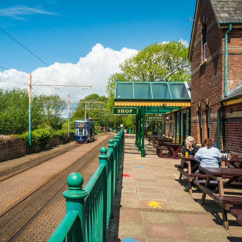 Colyton Tram Station Perfect to Sit and Relax
