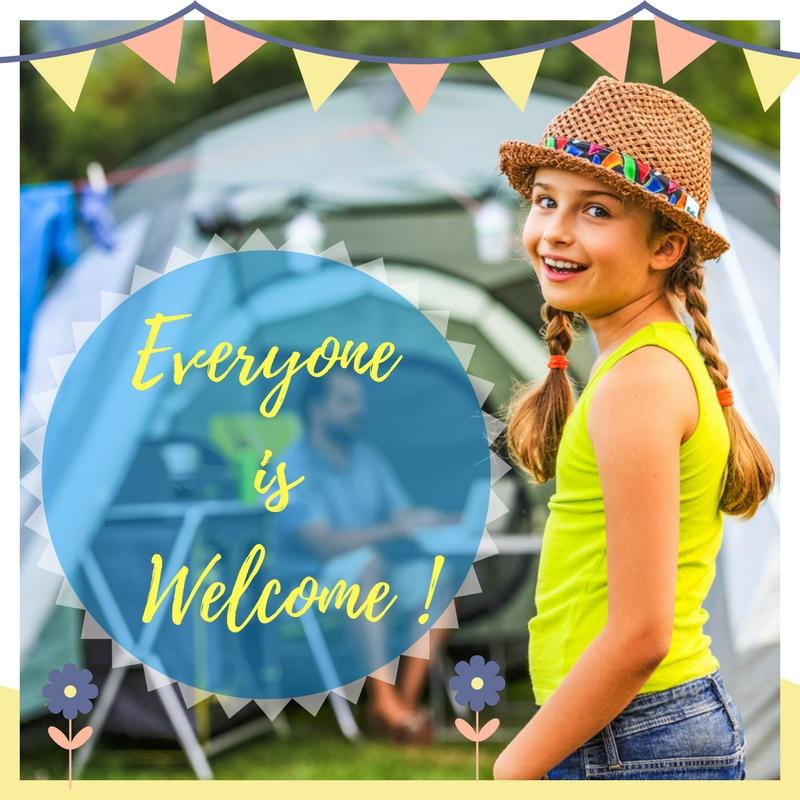 Everyone Welcome at Monkton Wyld Holiday Park West Dorset
