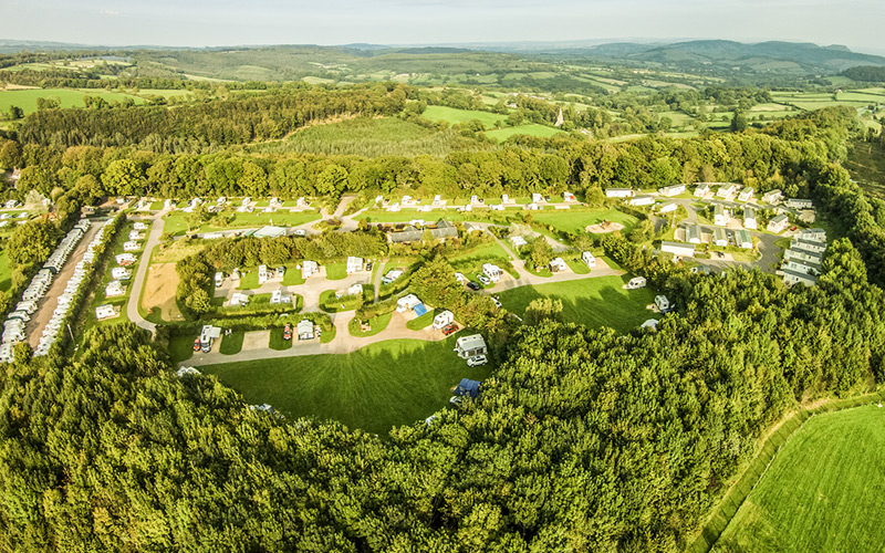 Monkton Wyld Touring & Camping 150 Level Pitches