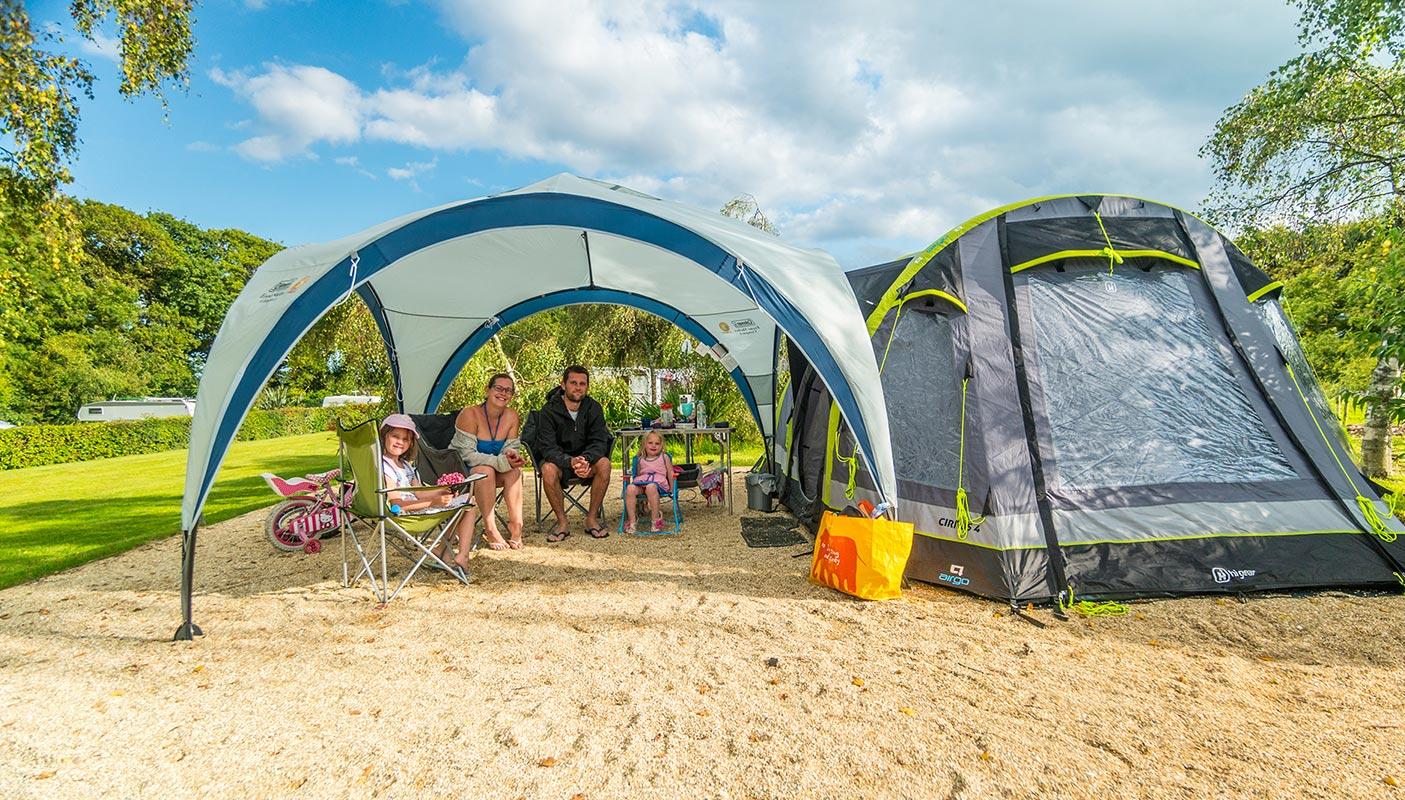 Finding Monkton Wyld Camping Caravanning