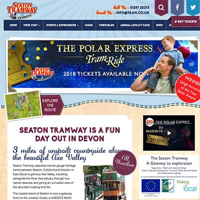 Seaton Tramway Devon