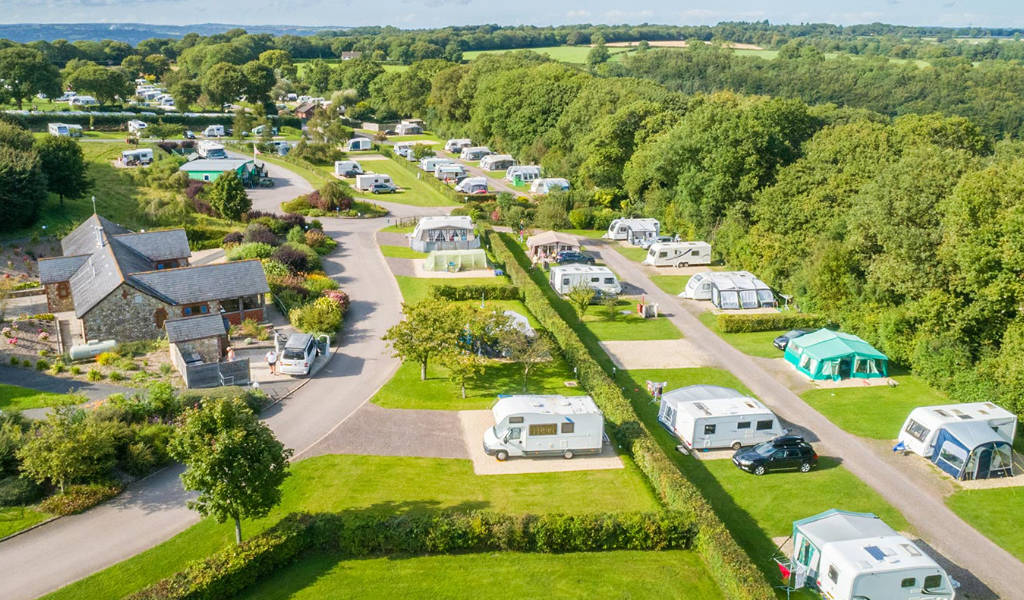 Best Camping Caravanning Motorhome Static Site Charmouth West Dorset