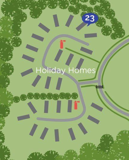 Holiday-Home-Site-Map-with-Plot-Number-19