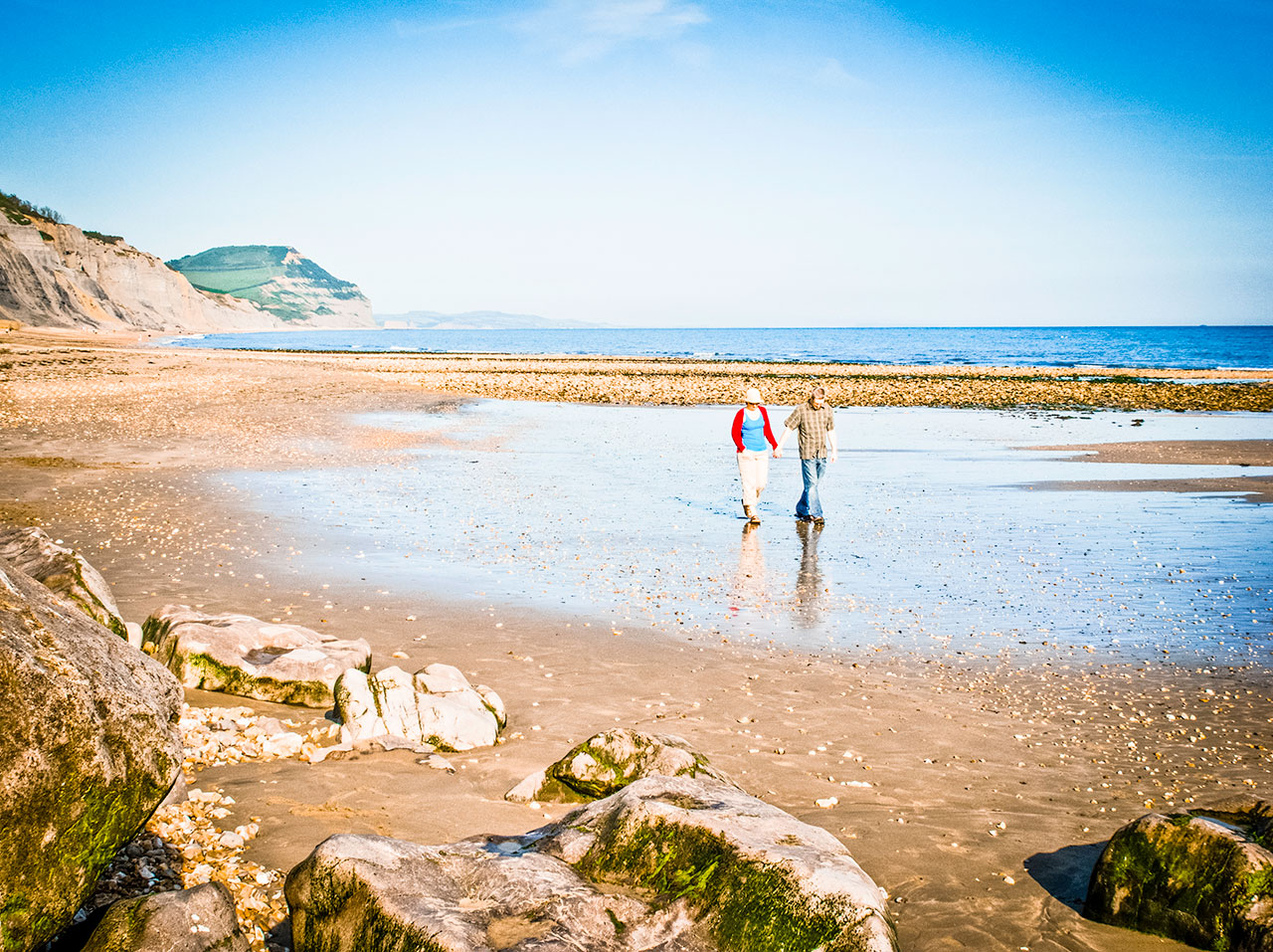 Best-Caravan-Touring-Holiday-Site-Charmouth-Dorset-Autumn-OCTOBER